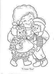 Resultado de imagem para Raggedy Ann and Andy: A Very Special Day Coloring Book coloring book 1979