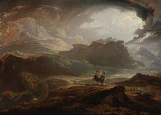 Macbeth by John Martin 1820 Oil on Canvas (Scottish National Gallery)