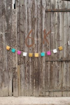 wood and wool garlands by woodwoolstool on Etsy, $40.00
