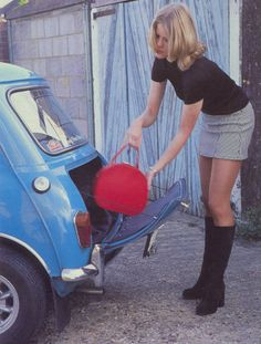 Austin Mini DeLuxe 1962