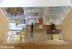 ニトリのレターケース9個引き出しの収納ブログ画像