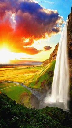 Seljalandfoss Water Falls, From: Plus GooGle.com