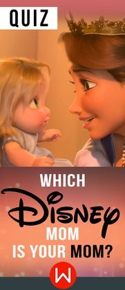 This Disney movie quiz will help you to find out which Disney mom is most like your mom and will include mom's from Little Mermaid, Brave and Mulan