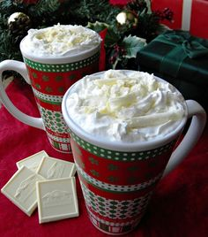 Mystery Lovers' Kitchen: A Copycat Starbucks White Chocolate Mocha that Elf would Love by Cleo Coyle