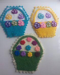 Pot Holders, Crochet Hats, Anne, Hot Pads, Potholders, Planters
