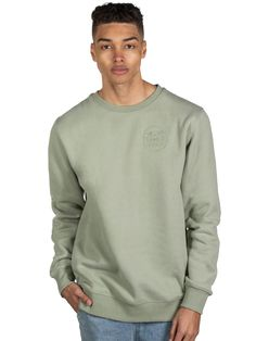The Wave Crew Soft Mint Mens Fleece, Wave, Mint, Sweatshirts, Long Sleeve, Sleeves, Sweaters, Mens Tops, T Shirt