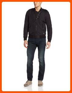 Diesel Men's Wieter Quilted Bomber Jacket,  Black, XX-Large - Mens world (*Amazon Partner-Link)