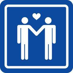 Felicity en haar man waren getrouwd ondanks dat zij wist dat hij homoseksueel was. Nu heeft hij haar laten zitten omdat hij een andere man heeft gevonden waar hij smoorverliefd op is. Dit prentje is van twee mannen die van elkaar houden en het past goed bij deze situatie.