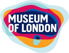 museum of london logo: colors represent the geographic area of london as it grew over time