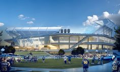 proposed rams stadium   Proposed stadium for NFL's St. Louis Rams offers more than just ...
