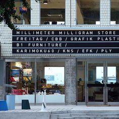 Mmmg store in Itaewon-ro.
