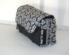 Stroller pram caddy diaper nappy bag black and by Tracey Lipman, $48.00