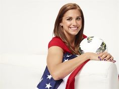 Model Olympian: Alex Morgan - Soccer Slideshows | U.S. women's soccer star Alex Morgan shows off her style off the pitch.  (Photo: Mitchell Haaseth / NBCOlympics.com) #NBCOlympics