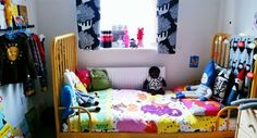 Colourful childrens room