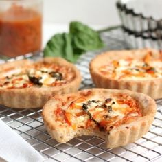 Mini Tart Pizzas