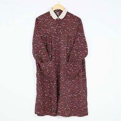 Women's Autumn Long Sleeve Shift Dress With Pockets
