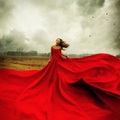Sheathed in red