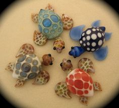 Glass Blown Sea Turtles