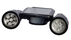 Super Bright Solar Powered Twin-Spot Lights with Motion Detector-Security Lights $20.86 http://stores.ebay.com/myfuncorp