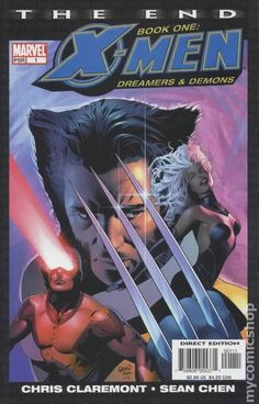 X-Men the End Book 1 Dreamers and Demons (2004) 1  Marvel Comics Modern Age Bronze Age Comic book covers Super Heroes  Villians  X-men Mutants  Wolverine