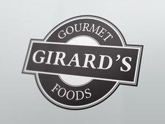 Gourmet Foods Logo designed by Amy Gehling - amygehling.com - branding - identity - logo Food Logo Design, Logo Food, Gourmet Foods, Gourmet Recipes, Brand Identity, Branding, Find Work, Buick Logo, Amy