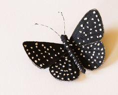 Sternennacht Schmetterling Brosche Textile Insekt Anweisung Brosche Naturgeschichte Entomologie Lover Natur Waldland Fashion Amazonas Schmetterling