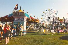 Manasquan Fireman's Fair. Been there every year since 2002! Miss just being able to walk the three blocks to get there...