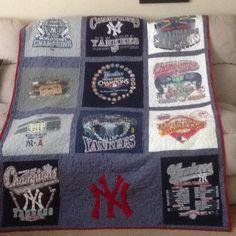 Yankee T-shirt Blanket
