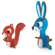 3 D animo #puzzle from www.kidsdinge.com https://www.facebook.com/pages/kidsdingecom-Origineel-speelgoed-hebbedingen-voor-hippe-kids/160122710686387?sk=wall