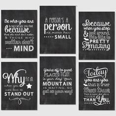 Dr. Seuss Quotes Project Life Printables {3x4 Journaling} by PerpetualLoveDesign on Etsy