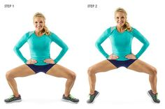 Everyone knows that squat is the king of the exercises. So try these 10 different squat variations in order to target better hips, butt and thighs. Fitness Workouts, You Fitness, At Home Workouts, Fitness Motivation, Health Fitness, Women's Health, Glute Workouts, Dance Fitness, Skinny Mom