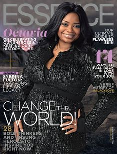 'Hidden Figures' Stars Discuss Overall Impact of Film: Photo The stars of Hidden Figures - Taraji P. Henson, Octavia Spencer and Janelle Monáe - take the cover of Essence magazine's February 2017 issue, on newsstands January… Vibe Magazine, Jet Magazine, Essence Magazine, Black Magazine, Most Beautiful Black Women, Black Love, Black Art, Ebony Magazine Cover, Magazine Covers