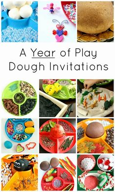 Life with Moore Babies: Play Dough Ideas from Mom's Library