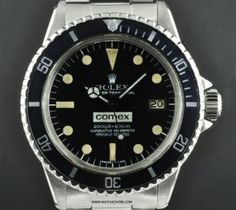 Rolex S/Steel Oyster Perpetual Comex Sea-Dweller 1665  http://www.watchcentre.com/product/rolex-s-steel-oyster-perpetual-comex-sea-dweller-1665/1389