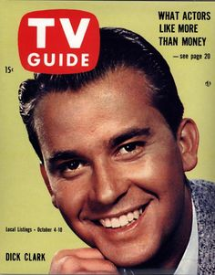 1958 TV Guide....Dick Clark