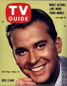 1958 TV Guide....Dick Clark