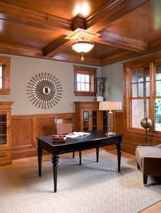 Minneapolis Residence traditional home office