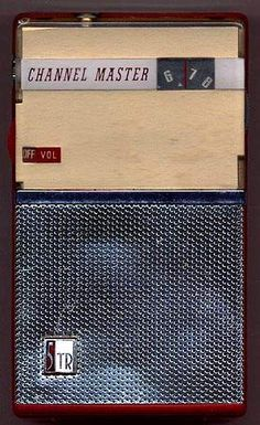 Channel Master 6503 shirtpocket transistor radios