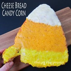 Candy corn cake from guild wars 2 guildwars2 gw2 halloween gooey 3 cheese bread candy corn will make your halloween meal extra special this simple quick bread is baked in a candy corn cake pan and topped with forumfinder Gallery