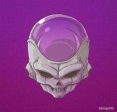 Skull villains DBZ #Goku villanos