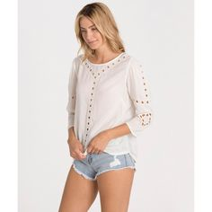 Get free shipping at the Billabong online store. An easy throw-on top you can dress up or dress down.