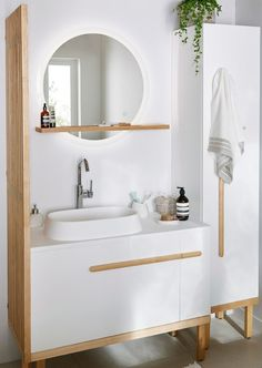 GoodHome Ceara Worktop basin - B&Q for all your home and garden supplies and advice on all the latest DIY trends Blue Cabinets, Wooden Cabinets, Cleaning Cabinets, Happy Room, Grey Countertops, Small Cabinet, Philippe Starck, Moving House, Cabinet Design