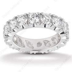 DIAMOND ETERNITY WEDDING BAND. Find it at Hayman Jewelry Co.