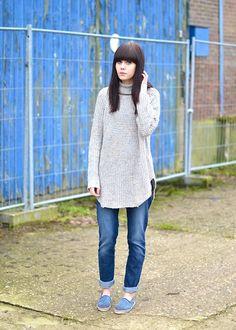 Boyfriend jeans - Part 3 (by Lucy De B.) http://lookbook.nu/look/4636643-Boyfriend-jeans-Part-3