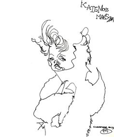 belle BRUT sketchbook: #KateMoss #fashion #style #illustration #blindcontour © belle BRUT 2014  http://bellebrut.tumblr.com/post/93746012185/belle-brut-sketchbook-katemoss-fashion-style