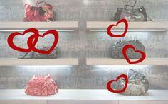 Escaparates de san Valentín