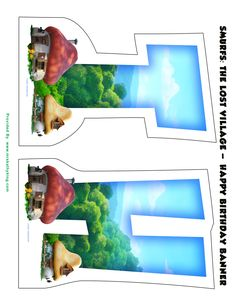 Are you looking for a Free Smurfs: The Lost Village Printable Happy Birthday Banner? Matt created one that is perfect for you to use at your next party. Please feel free to share with your friends by pinning it on Pinterest.  Here are more Smurfs: The Lost Village Party Ideas Free Smurfs: The Lost Village Printable Party …