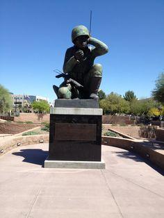 #WesleyBolinPlaza #NavajoCodeTalkers #WWII  #DowntownPhoenix #Phoenix #Arizona