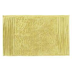 Pleated Stripe Bath Mat | west elm...for the upstairs bathroom