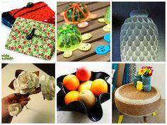 10 Artesanatos Reciclados (Simples) que Voc� Pode Fazer em Casa
